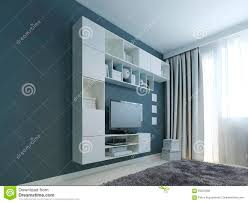 Living Room Wall Cabinet Living Room With Wall Cabinet Trend Stock Photo Image 59223380