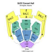 Bjcc Concert Hall Seat Map Jedibrasil Com