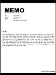 Memo Report Samples Business Report Memo Sample