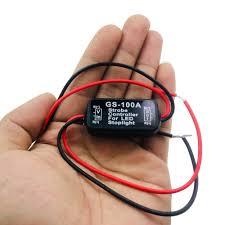 12v Strobe Light Circuit Us 3 26 2018 New Auto Car 12v Gs 100a Led Brake Stop Light Strobe Flash Flashing Controller Box On Aliexpress