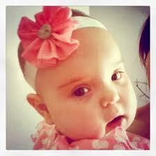 18 ways to make cute baby flower headbands
