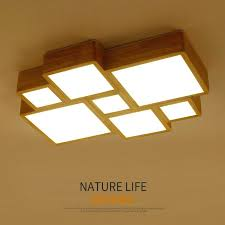 wooden ceiling lights solid wooden original solid wood ceiling lamp minimalist living room lamp head wooden
