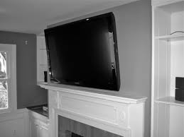 How To Hide Tv Tv Above Fireplace Hiding Wires Facbooikcom