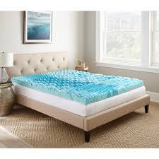 mattress toppers queen. Modren Toppers Broyhill GelLux Foam Topper On Mattress Toppers Queen U