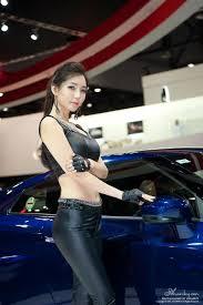 lee ji min seoul motor show 2016 nissan