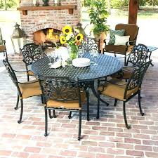 an 0 60 inch round outdoor dining table