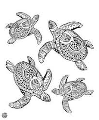 Small Picture Zentangle turtle adult antistress coloring page Adult