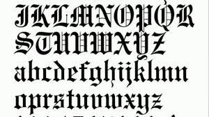 Font Styles For Tattoos Tattoo Fonts Styles Lettering