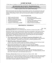 medical office resume resume example. hr recruiter resume examples .