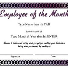 Employee Of The Month Template With Photo Honor Roll Certificate Wording Colesecolossus Free Employee Of The