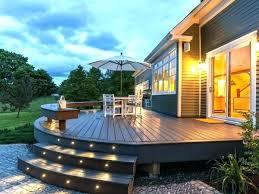 exterior stairs steps for mobile homes outdoor wooden outside staircase design the home beautiful stair