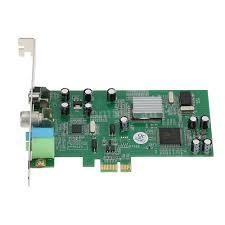 pci e internal tv tuner card mpeg dvrcapture recorder pal bg pal i ntsc secam pc pci e multia card remote