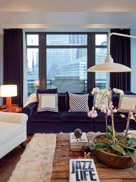 extraordinary fur area rug at home blue ambiance modern living room with blue sofa and blue couch living room ideas