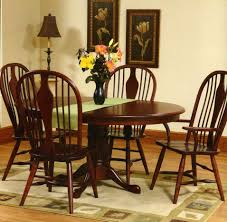 image of traditional amish dining room tables spindle back are traditional amish dining chairs