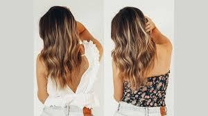 Shimmer Lights Orange Hair