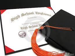 High School Deploma High School Diploma Clipart
