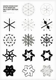Swissmiss Graphic Design Study Of The Snowflake