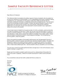 faculty letter of recommendation 29 reference letter examples pdf word examples