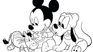 Mickey Mouse Coloring Pages To Print Mickey Mouse Coloring Picture