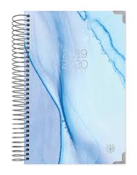Blue Watercolor 2019 2020 Academic Year Day Planner Best