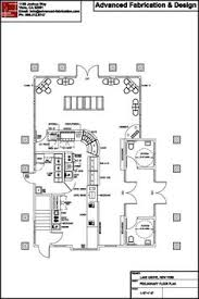 Cafe Floor Plan by Advanced Fabrication & Design.