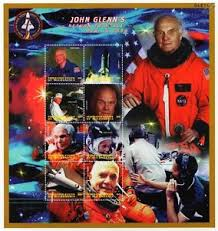 Image result for 1998 John Glenn returns to space