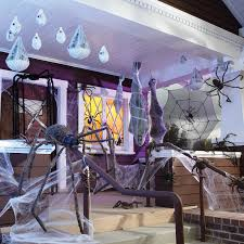 ... Halloween Decoration With Interior Web Spider ...