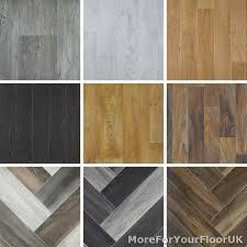 details about wood plank style vinyl flooring kitchen bathroom lino 2m 3m 4m
