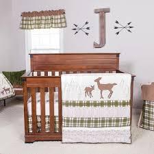 trend lab deer lodge 3 piece crib