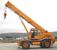 Coles 25 Ton Crane Load Chart Hydra Husky 1968 1984 Coles Cranes