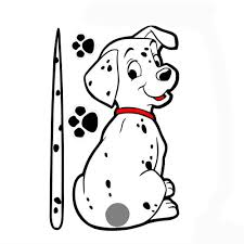 Funny cartoon dog car stickers auto vehicle window for renault megane 2 3 for volvo v40 for vw polo for lexus ct 200h in car stickers from automobiles