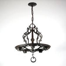ideas cast iron chandelier antique for striking antique five light cast iron chandelier c for awesome cast iron chandelier