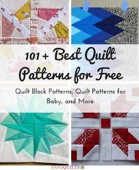 101+ Best Quilt Patterns for Free: Quilt Block Patterns, Quilt ... & 101 Best Quilt Patterns for Free Adamdwight.com