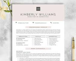 TEACHER Resume Template for MS Word   and   Page by templatesnm
