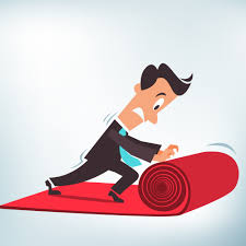 red carpet roll. roll out the red carpet for your customer e