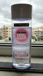 maybelline clean express eye lip makeup remover
