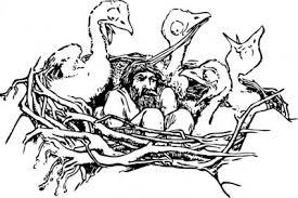 男の A 鳥 S 巣クリップ アート クリップ アート 無料のクリップアート