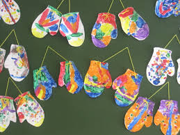 Christmas Arts And Crafts For Kids Planning Marvelous Mitten Activities For Preschool Mittens