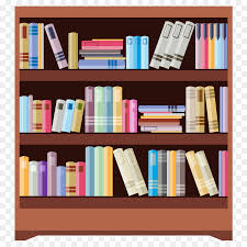 bookcase table shelf furniture cartoon books