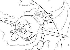 Small Picture Planes coloring pages for kids printable free Coloring pages