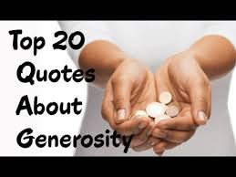 Generosity Quotes Interesting Best 48 Quotes About Generosity Wise Old Sayings YouTube