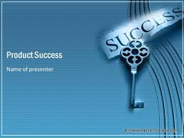 Success In Sales Powerpoint Template