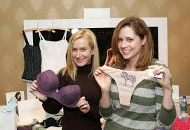 Marie Claire Fashion Closet jenna fischer and angela kinsey 600 413