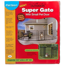 expandable fence outdoor pet gates outdoor super gate with door expandable outdoor fence for dogs