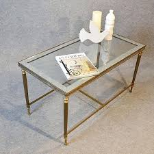 brass and glass coffee table traditional glass brass coffee tables antiques atlas table art top coffee
