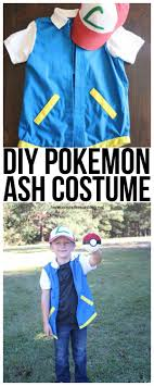 create a pokemon ash costume for under 15 this costume is easy to make