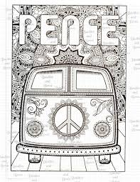 Bus Station Coloring Pages Beautiful Vw Volkswagen Bus Van Peace