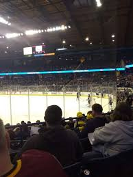 Allstate Arena Section 108 Home Of Depaul Blue Demons