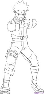 Small Picture how to draw kakashi hatake from naruto step 6