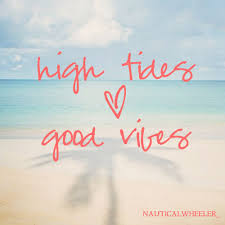High Tides Good Vibes Quotes Ocean Quotes Beach Quotes Beach